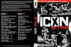 ROH - CM Punk : The Icon (2 Disc Set) DVD