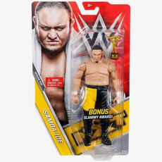 WWE Basic Series 70 NXT Samoa Joe Figure (With Bonus Slammy Award)