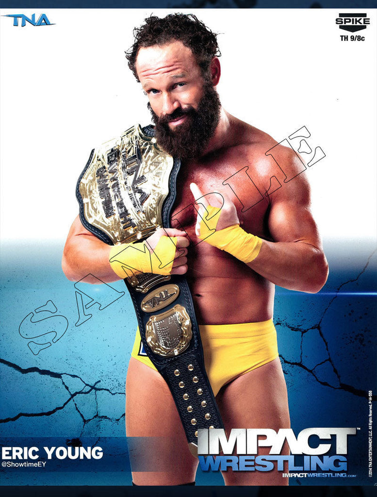 Impact Wrestling - Eric Young - 8x10 - P14-558