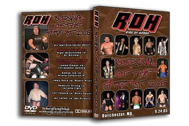 ROH - Survival of the Fittest 2005 Event DVD (Pre-Owned)