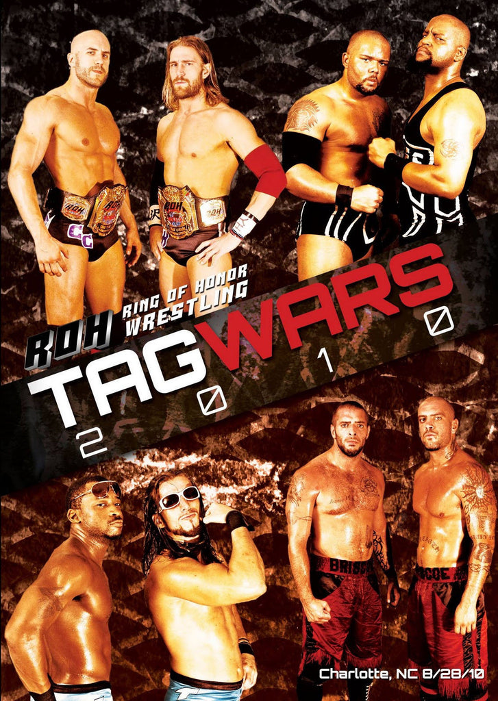 ROH - Tag Wars 2010 Event DVD