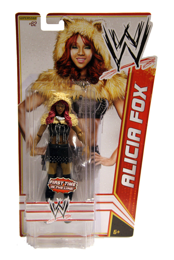 WWE Basic Series 23 Alicia Fox (#62) Figure
