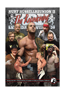 PWG - Kurt Russellreunion 2: The Reunioning 2011 Event DVD