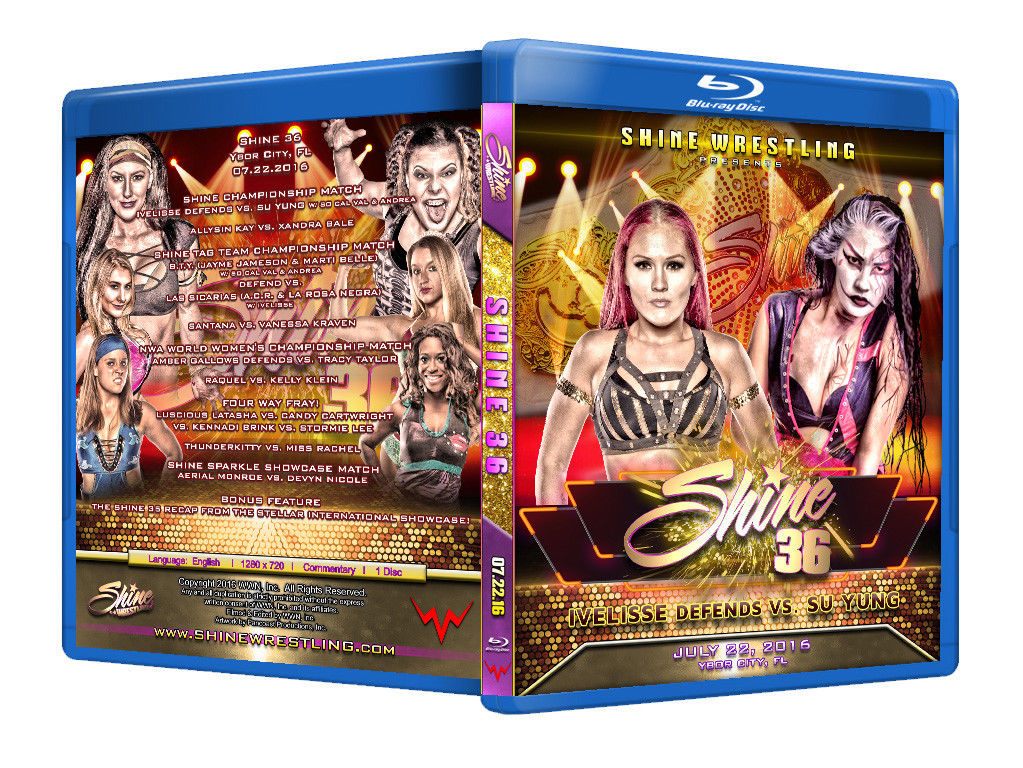 Shine Women Wrestling Volume 36 Blu-Ray