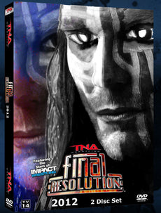 TNA - Final Resolution 2012 Event DVD