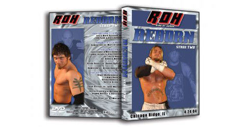 ROH - Reborn Stage Two 2004 Event DVD (Pre-Owned)