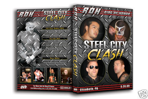 ROH - Steel City Clash 2009 Event DVD