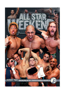 PWG - All Star Weekend 8 - Night Two 2011 Event DVD