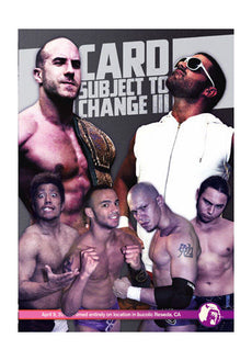 PWG - Card Subject To Change III 2011 Event DVD