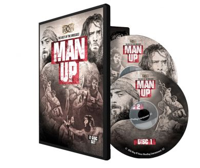 "ROH - ""Man Up"" Best Of Bricoes 2 Disc DVD Set"