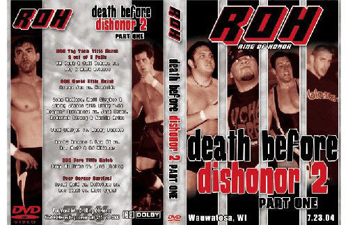 ROH - Death Before Dishonor 2 Part 1 2004 Event DVD (Pre-Owned)