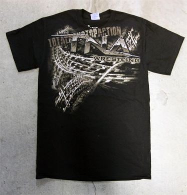 "EXCLUSIVE TNA ""Barb Wire"" Logo T-Shirt"