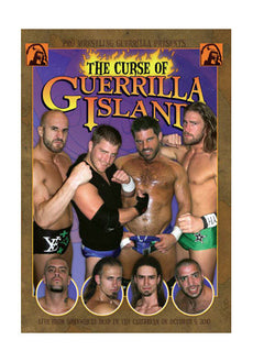 PWG - The Curse Guerrilla Island 2010 Event DVD