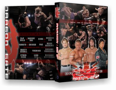 Dragon Gate UK. : Invasion 2 DVD