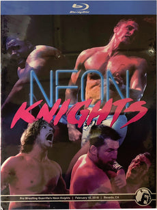 PWG - Neon Knights 2018 Event Blu-Ray  (Pre-Owned)