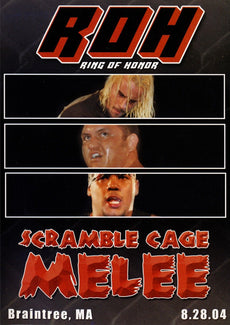ROH - Scramble Cage Melee 2004 Event DVD (Pre-Owned)