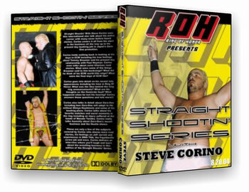ROH - Straight Shootin with Steve Corino (Pre-Owned DVD)