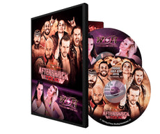 ROH - Aftershock & Women Of Honor (8/7/16) 2016 Event DVD (2 Disc Set)