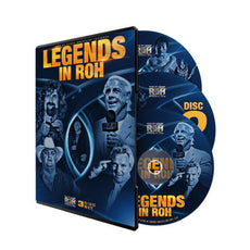 ROH - Legends in ROH - 3 Disc DVD Set