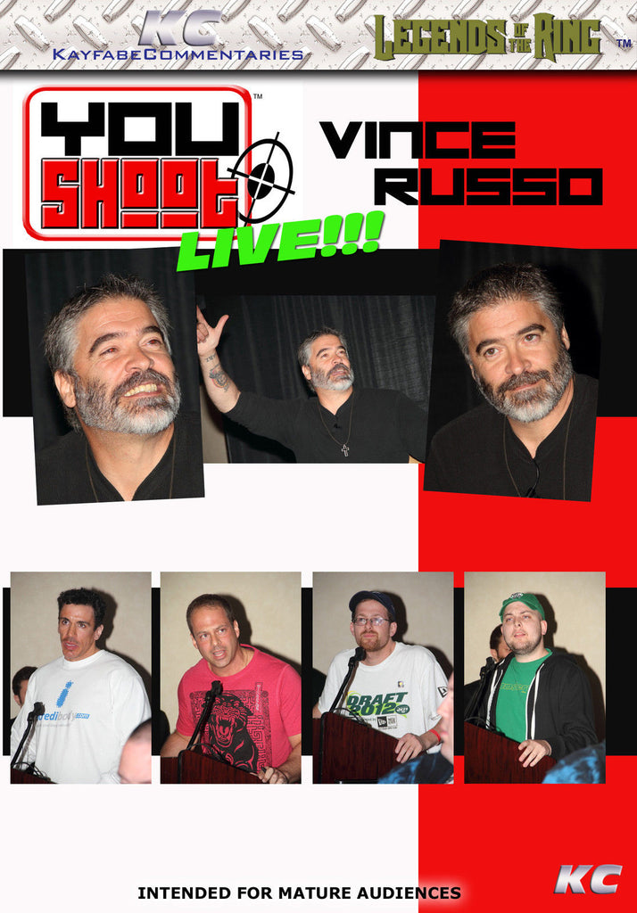 YouShoot : Vince Russo Live DVD