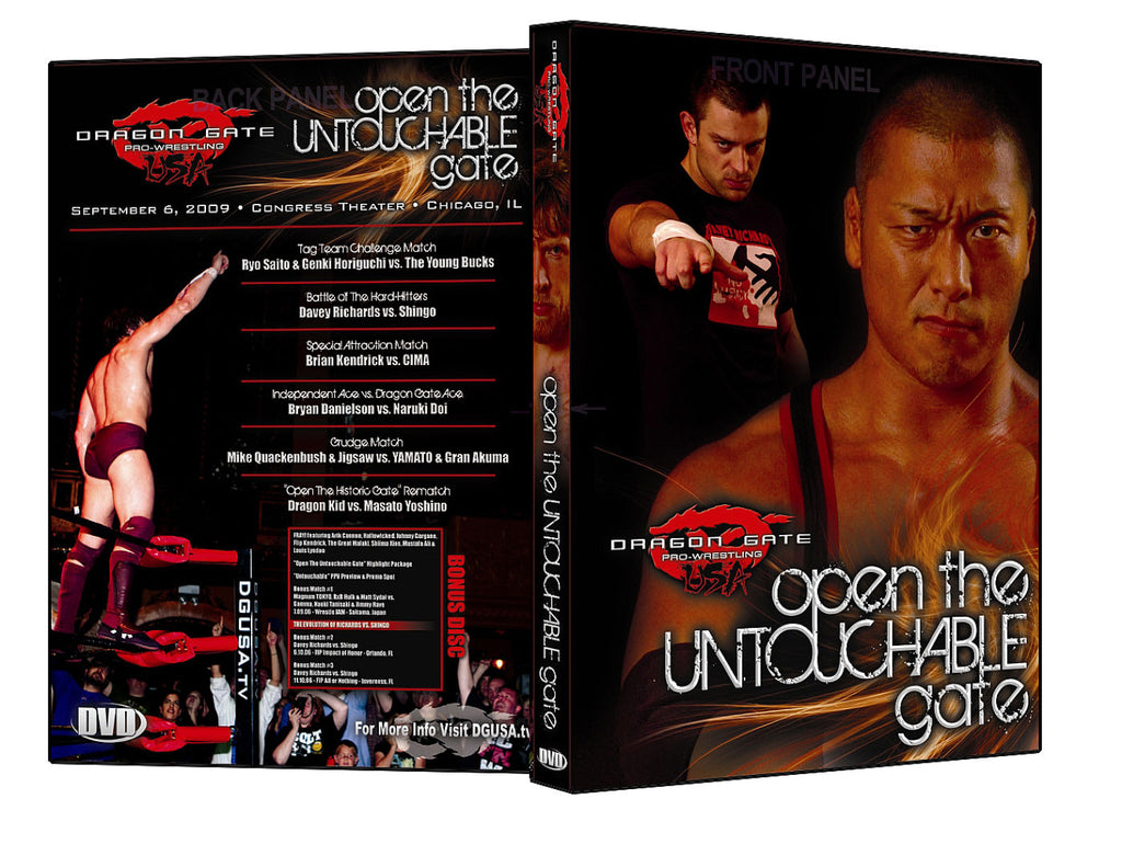 DGUSA - Open The Untouchable Gate DVD