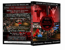 Dragon Gate & WXW : Open the German Gate 2009 Event DVD