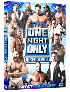 TNA - Joker's Wild 2013 : One Night Only Event DVD