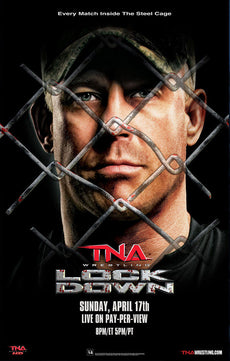 "TNA - Lockdown 2011 38""x24"" PPV Poster"