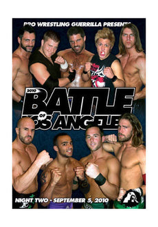 PWG - Battle of Los Angeles 2010 Night 2 Event DVD