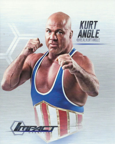 "TNA - Exclusive ""Destination America"" Kurt Angle 8x10"