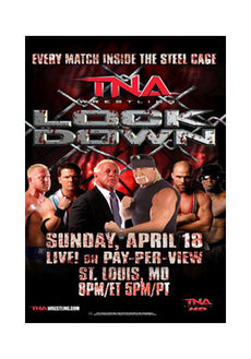"TNA - Lockdown 2010 38""x24"" PPV Poster"