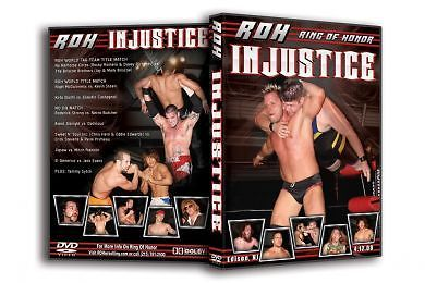 ROH - Injustice 2008 Event DVD