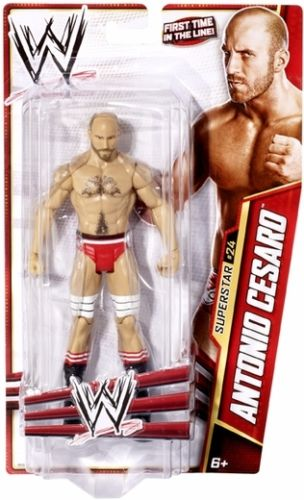 WWE Basic Series 27 Antonio Cesaro #24 Figure