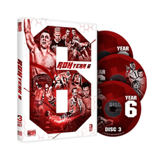 ROH - Ring of Honor Year 6 - 3 Disc DVD Set