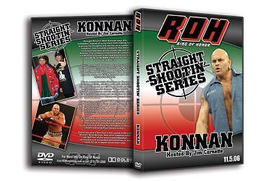 ROH - Straight Shootin' with Konnan (Pre-Owned DVD)