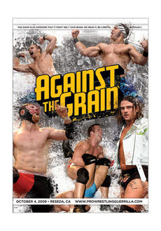PWG - Against The Grain 2009 Event DVD