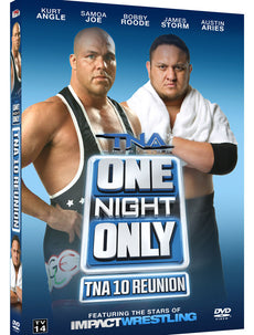 TNA One Night Only: 10 Reunion 2013 Event DVD