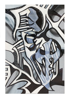 """TNA  Jeff Hardy /""""Soul Tied In A Knot/"""" Lithographic Print Hand Signed"""