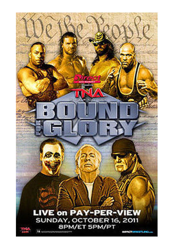 "TNA - Bound For Glory 2011 38""x24"" PPV Poster"