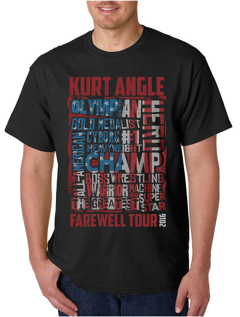 "TNA - Kurt Angle ""Farewell Tour"" T-Shirt"