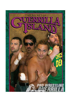 PWG - The Secret Of Guerrilla Island 2009 Event DVD