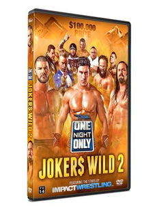 TNA - Joker's Wild ll 2014 Event DVD