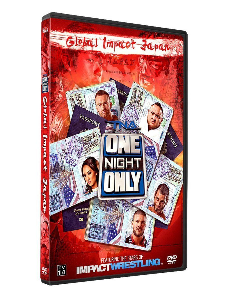 TNA - One Night Only: Global Impact Japan 2014 Event DVD