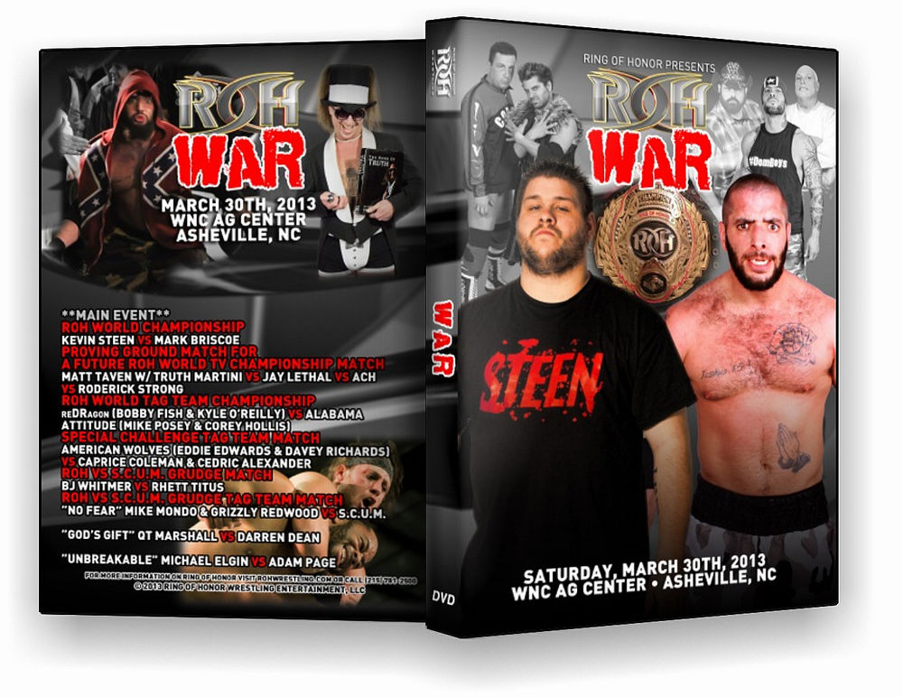 ROH - War 2013 Event DVD