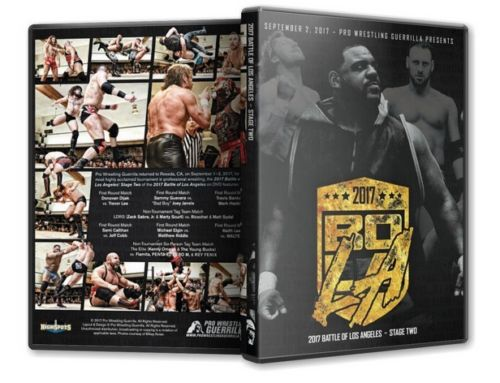PWG - Battle of Los Angeles 2017 - Stage 2 Event DVD