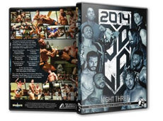 PWG - Battle of Los Angeles 2014 Night 3 Event DVD