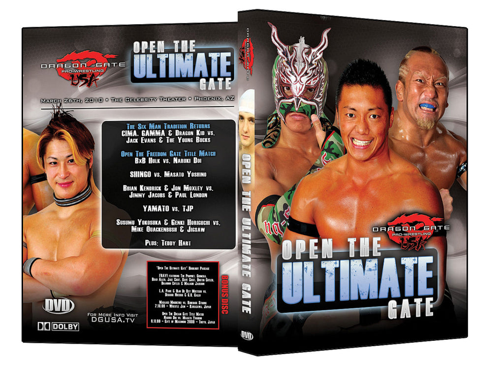 DGUSA - Open The Ultimate Gate 2010 DVD