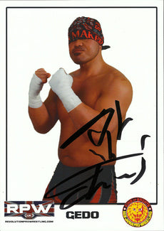 RPW - Gedo Hand Signed A4 Photo