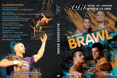 ROH - The Bluegrass Brawl 2010 Event DVD