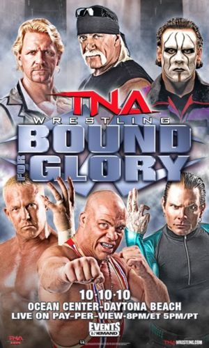"TNA - Bound For Glory 2010 38""x24"" PPV Poster"
